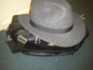 hat and bag