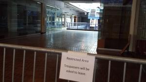 Pier 17 empty mall