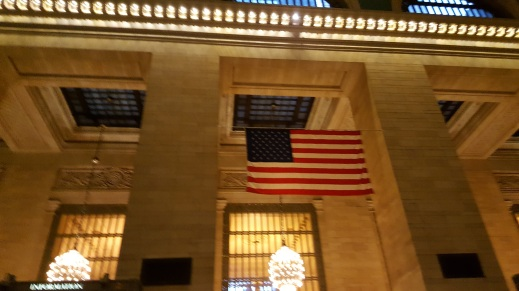 American Flag at GCT